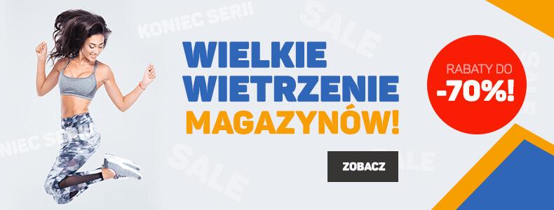 Wielkie wietrzenia magazynów